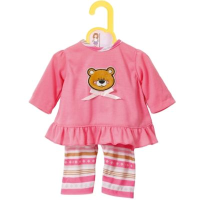 Zapf BABY born® Kleider Kollektion Dolly Moda Pyjama, Größe 30-36cm