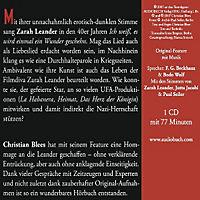 Zarah Leander, 1 Audio-CD - Produktdetailbild 1