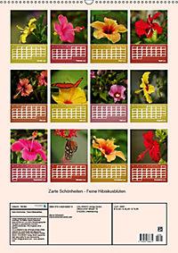 Zarte Schönheiten - Feine HibiskusblütenAT-Version (Wandkalender 2019 DIN A2 hoch) - Produktdetailbild 1