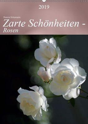 Zarte Schönheiten - Rosen (Wandkalender 2019 DIN A2 hoch), Bianca Schumann