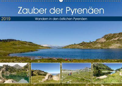 Zauber der Pyrenäen - Wandern in den östlichen Pyrenäen (Wandkalender 2019 DIN A2 quer), Rosemarie Prediger