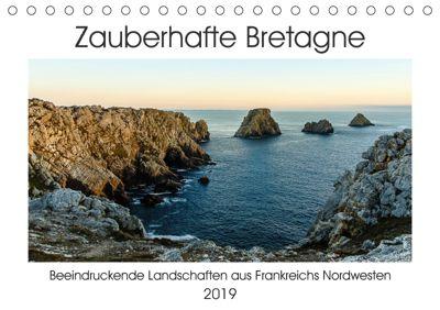 Zauberhafte Bretagne (Tischkalender 2019 DIN A5 quer), Andreas Pidde