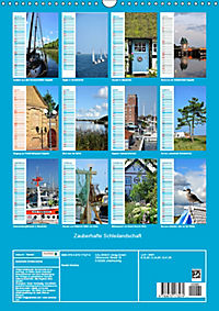 Zauberhafte Schleilandschaft (Wandkalender 2019 DIN A3 hoch) - Produktdetailbild 13