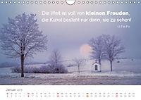 Zauberhafte Sprüche - Bunte Seelenblüten (Wandkalender 2019 DIN A4 quer) - Produktdetailbild 1