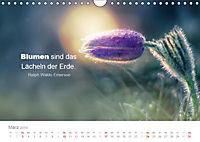 Zauberhafte Sprüche - Bunte Seelenblüten (Wandkalender 2019 DIN A4 quer) - Produktdetailbild 3