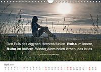 Zauberhafte Sprüche - Bunte Seelenblüten (Wandkalender 2019 DIN A4 quer) - Produktdetailbild 4