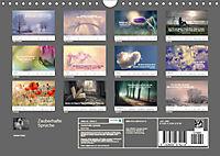 Zauberhafte Sprüche - Bunte Seelenblüten (Wandkalender 2019 DIN A4 quer) - Produktdetailbild 13