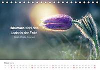 Zauberhafte Sprüche - Bunte Seelenblüten (Tischkalender 2019 DIN A5 quer) - Produktdetailbild 3