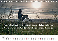 Zauberhafte Sprüche - Bunte Seelenblüten (Tischkalender 2019 DIN A5 quer) - Produktdetailbild 4