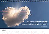 Zauberhafte Sprüche - Bunte Seelenblüten (Tischkalender 2019 DIN A5 quer) - Produktdetailbild 7