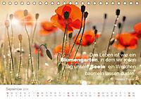 Zauberhafte Sprüche - Bunte Seelenblüten (Tischkalender 2019 DIN A5 quer) - Produktdetailbild 9