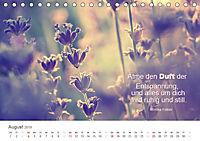 Zauberhafte Sprüche - Bunte Seelenblüten (Tischkalender 2019 DIN A5 quer) - Produktdetailbild 8