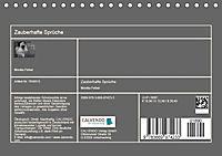 Zauberhafte Sprüche - Bunte Seelenblüten (Tischkalender 2019 DIN A5 quer) - Produktdetailbild 13