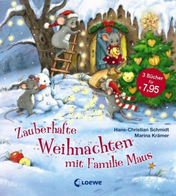 zauberhafte weihnachten mit familie maus buch. Black Bedroom Furniture Sets. Home Design Ideas