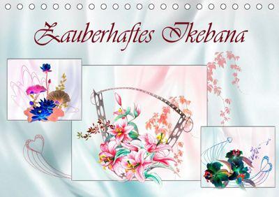 Zauberhaftes Ikebana (Tischkalender 2019 DIN A5 quer), Dusanka Djeric