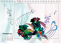 Zauberhaftes Ikebana (Tischkalender 2019 DIN A5 quer) - Produktdetailbild 12