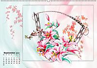 Zauberhaftes Ikebana (Wandkalender 2019 DIN A2 quer) - Produktdetailbild 9