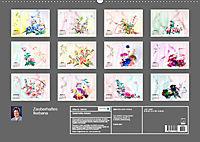 Zauberhaftes Ikebana (Wandkalender 2019 DIN A2 quer) - Produktdetailbild 13