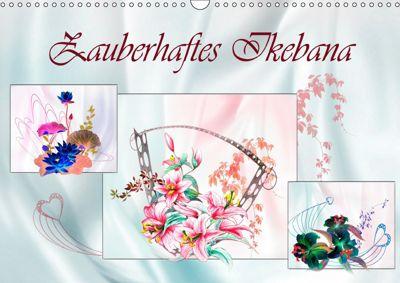 Zauberhaftes Ikebana (Wandkalender 2019 DIN A3 quer), Dusanka Djeric