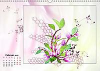 Zauberhaftes Ikebana (Wandkalender 2019 DIN A3 quer) - Produktdetailbild 2