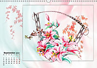 Zauberhaftes Ikebana (Wandkalender 2019 DIN A3 quer) - Produktdetailbild 9