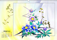 Zauberhaftes Ikebana (Wandkalender 2019 DIN A3 quer) - Produktdetailbild 1