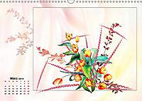 Zauberhaftes Ikebana (Wandkalender 2019 DIN A3 quer) - Produktdetailbild 3