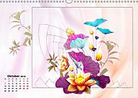 Zauberhaftes Ikebana (Wandkalender 2019 DIN A3 quer) - Produktdetailbild 10