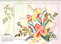 Zauberhaftes Ikebana (Wandkalender 2019 DIN A3 quer) - Produktdetailbild 6