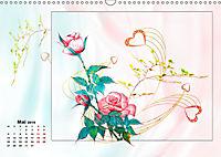 Zauberhaftes Ikebana (Wandkalender 2019 DIN A3 quer) - Produktdetailbild 5