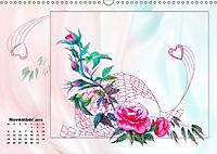 Zauberhaftes Ikebana (Wandkalender 2019 DIN A3 quer) - Produktdetailbild 11