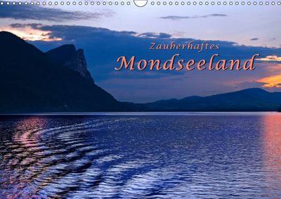 Zauberhaftes Mondseeland (Wandkalender 2019 DIN A3 quer), Bernd Zillich