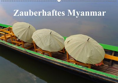Zauberhaftes Myanmar (Wandkalender 2019 DIN A2 quer), Luana Freitag