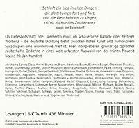 Zauberworte - Die schönsten deutschen Gedichte und Balladen, 6 Audio-CDs - Produktdetailbild 1