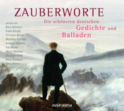 Zauberworte - Die schönsten deutschen Gedichte und Balladen, 6 Audio-CDs, Diverse Interpreten