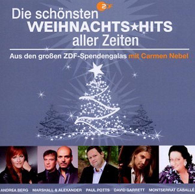 Beste Weihnachtslieder Aller Zeiten.Zdf Die Schönsten Weihnachtshits Aller Zeiten Cd Weltbild De
