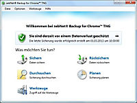 zebNet® Backup for Chrome™ TNG - Small-Business License for up to 3 Computers - Produktdetailbild 2