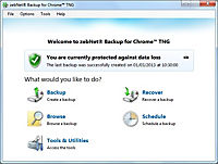 zebNet® Backup for Chrome™ TNG - Small-Business License for up to 3 Computers - Produktdetailbild 5