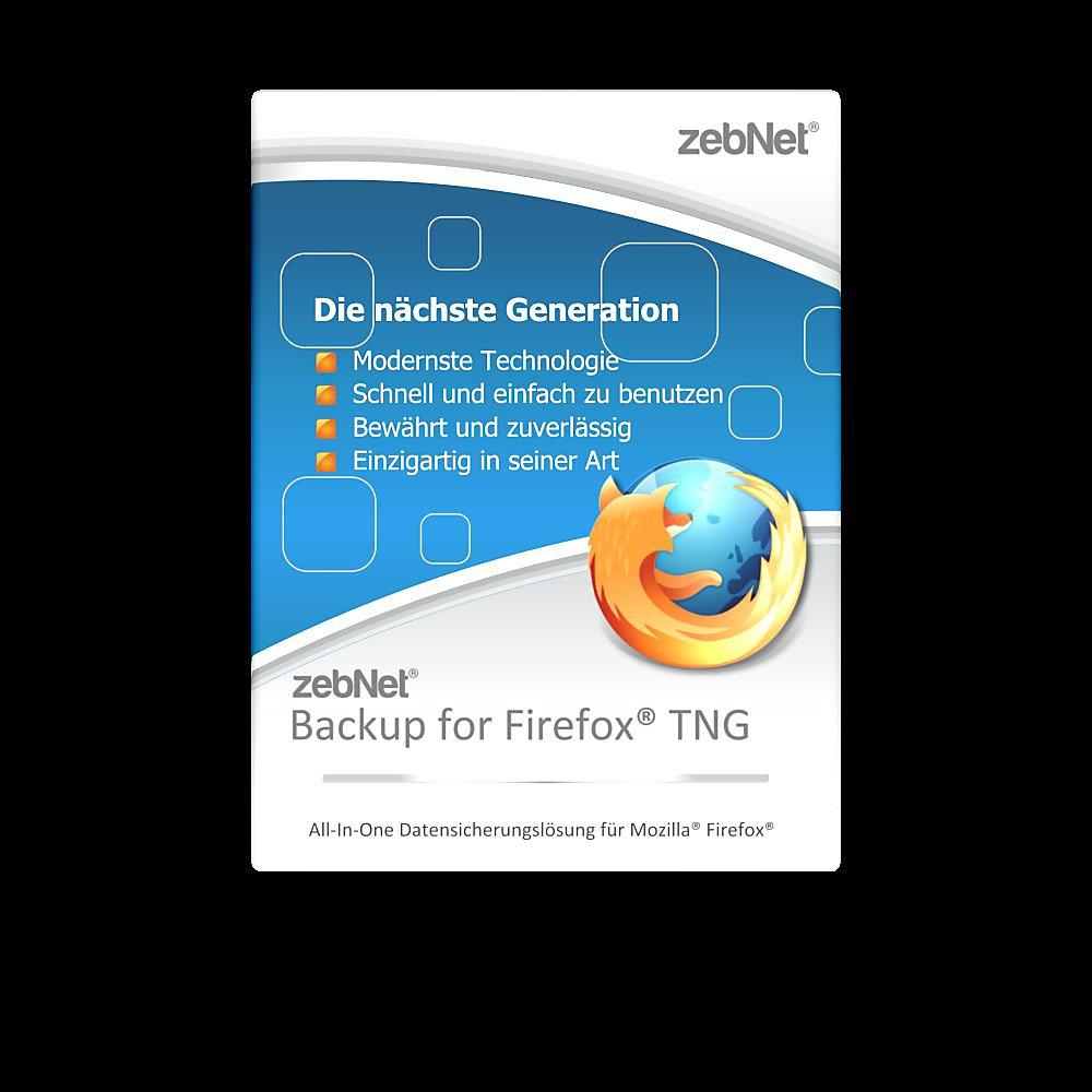 zebNet® Backup for Firefox® TNG - Enterprise License for up
