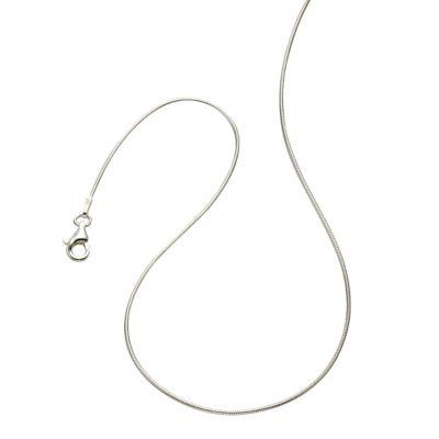 ZEEme Basic Collier 925/- Sterling Silber Schlangenkette