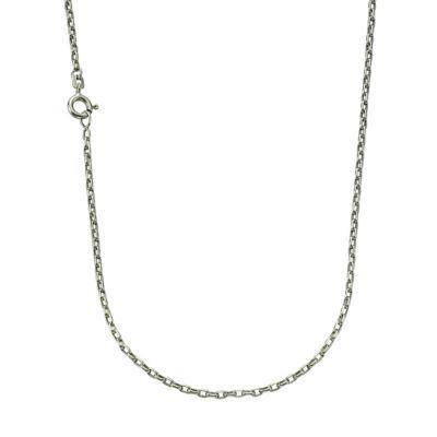 ZEEme Basic Collier 925/- Sterling Silber Ankerkette 60cm