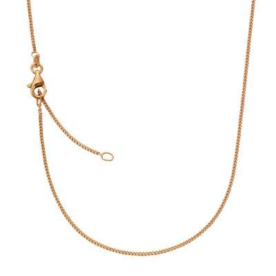 ZEEme Basic Collier 925/- Sterling Silber rotverg. 42+3cm