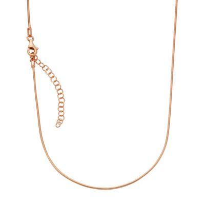 ZEEme Basic Collier 925/- Sterling Silber rotvergoldet 42+5cm