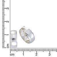 ZEEme Basic Creolen 925/- Sterling Silber 16mm Durchmesser - Produktdetailbild 1