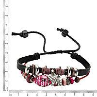 ZEEme Fashion Armband Leder mehrreihig - Produktdetailbild 1