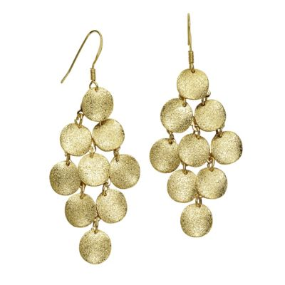 ZEEme Fashion Ohrhänger Metall goldfarben