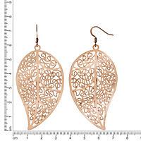 ZEEme Fashion Ohrhänger Metall rosefarben - Produktdetailbild 1