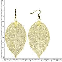 ZEEme Fashion Ohrhänger Metall vergoldet 62mm - Produktdetailbild 1
