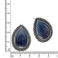 ZEEme Fashion Ohrstecker Metall Lack blau - Produktdetailbild 1