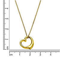 Zeeme For Kids Anhänger mit Kette 333/- Gold ohne Stein 36/38 cm Glänzend - Produktdetailbild 2
